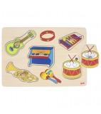 goki Geluidenpuzzel instrumenten
