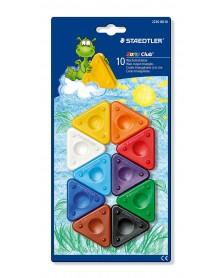 Staedtler Waskrijt driehoekjes 10 stuks