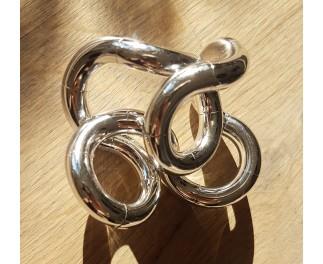 Tangle Metallic junior zilver