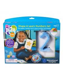 Learning Resources Playfoam-Kugelknete Zahlen