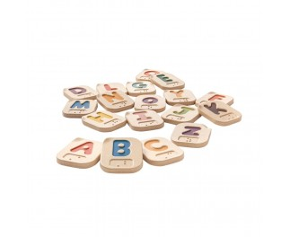Plantoy Braille voelletters