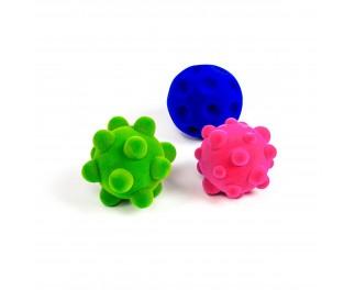 Rubbabu Sensory mini stressballen 3 stuks