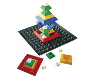 Piramidenpuzzel met bodemplaat