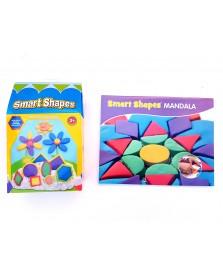Relevant Play Bubber Smart Shapes Mandala-Set