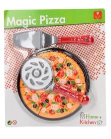 Snijset pizza