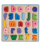hape Puzzle Kleinbuchstaben