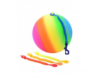 Regenbogen bungeebal