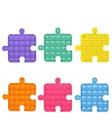 6 Pop it puzzelstukken