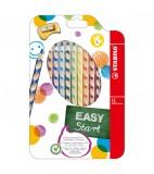 Stabilo Jumbo easycolors 12 stuks links