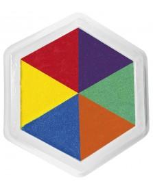JToys Riesen Stempelkissen 6 farbig