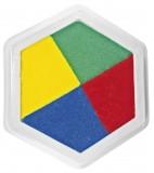 JToys Riesen Stempelkissen 4 farbig