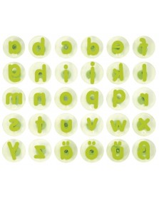 JToys Kleine letters reuzestempels 30 stuks