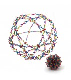 Hoberman sphere rainbow reuze