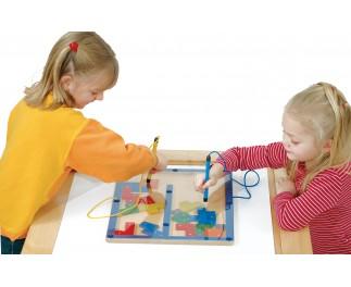 Magneet tekenspel tetris