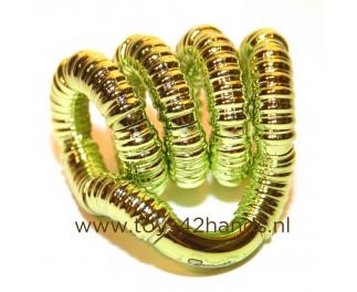 Tangle Tangle structuur metallic groen