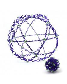 Hoberman sphere glow reuze