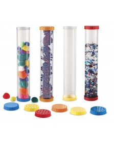 Learning Resources Zintuigenbuizen - sensory tubes 4 stuks