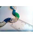 Tangle Therapy medium blauw