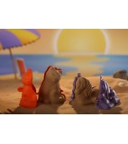 Sandcreation, 3D figuren, 4 stuks