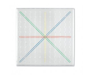 Learning Resources Geoboard transparent 11x11