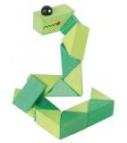 Pocket Puzzle Grüne Schlange