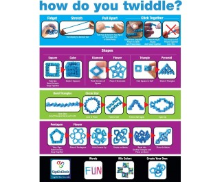 Tangle Mega Twiddle Toys