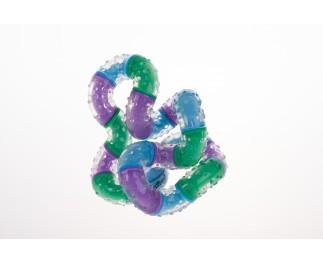 Tangle Therapie groß blau-lila