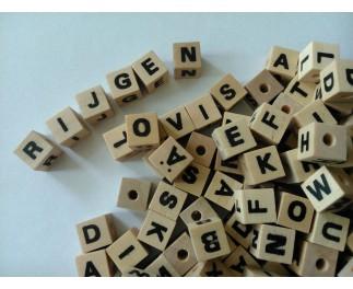 JToys Kralen letters natuur