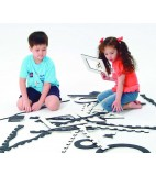 weplay Creatieve matten zwart-wit