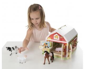 Melissa en Doug Slothuis boerderij