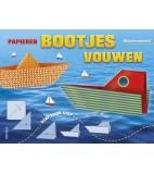 Papier bootjes vouwen op=op