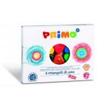 PRIMO 6 driehoek waskrijtjes