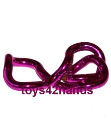 Tangle Junior metallic roze