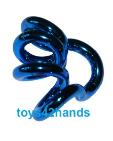 Tangle Metallic junior blauw