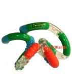 Tangle Junior structuur oranje-groen-blauw
