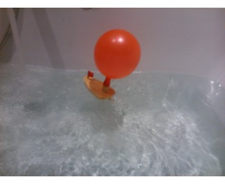JToys Ballon knatterboot
