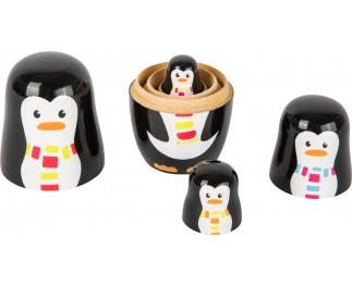 Legler Matroesjka pinguïn familie