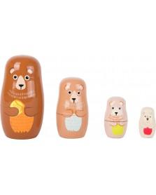 Legler Matroesjka beren familie