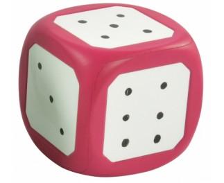 JToys Whiteboard dobbelsteen roze op=op