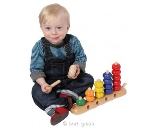 I'm Toys Sorteer-, rijg-, telrups