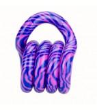 Tangle Junior tangle wild zebra roze-blauw