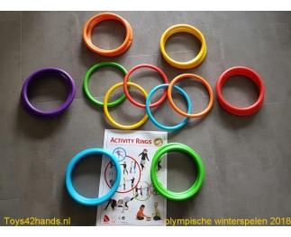 gonge Activiteiten ringen 24 stuks