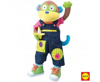 ALEX Aankleedpop aap
