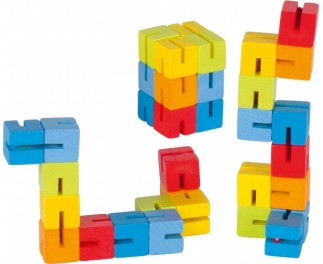 goki Pocketpuzzel regenboog