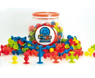 Fat Brain Toys Squigz mini 75 stuks