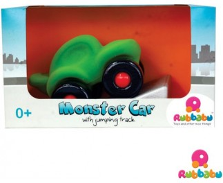 Rubbabu Monster auto met springschans