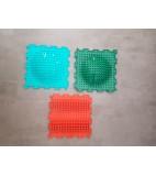 Sensorik-Matten mit Wölbung für Barfußpfad 3 Stück